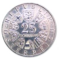 25 Schilling, 1965