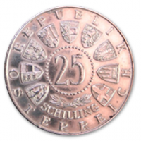 25 Schilling, 1956