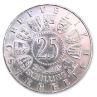 25 Schilling, 1958