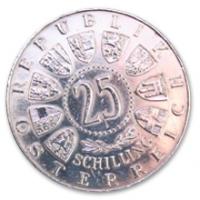 25 Schilling, 1961